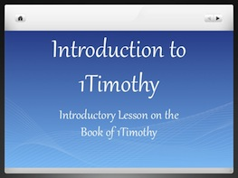 Introduction to 1Timothy